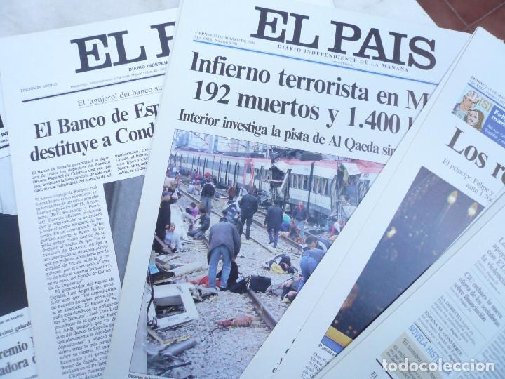Coleccionismo de Periódico El País: LAS PORTADAS EL PAIS. UNA HISTORIA DE LOS ÚLTIMOS 30 AÑOS. 30 PORTADAS. DE 1976 A 2006 - Foto 4 - 138057910