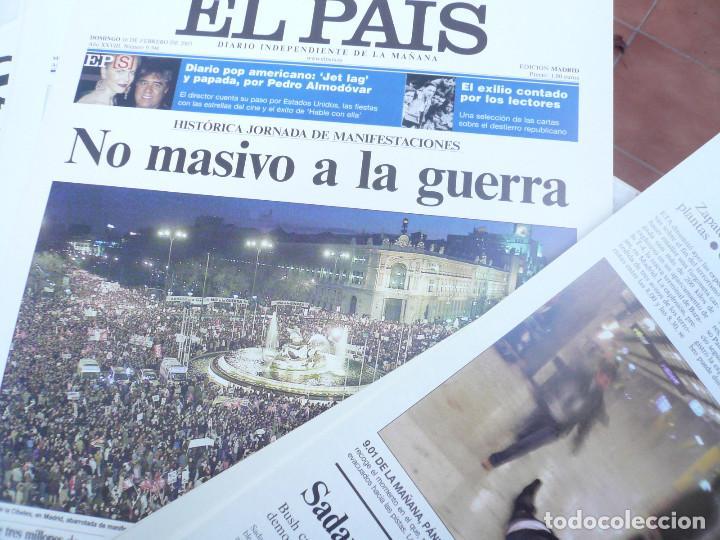 Coleccionismo de Periódico El País: LAS PORTADAS EL PAIS. UNA HISTORIA DE LOS ÚLTIMOS 30 AÑOS. 30 PORTADAS. DE 1976 A 2006 - Foto 7 - 138057910