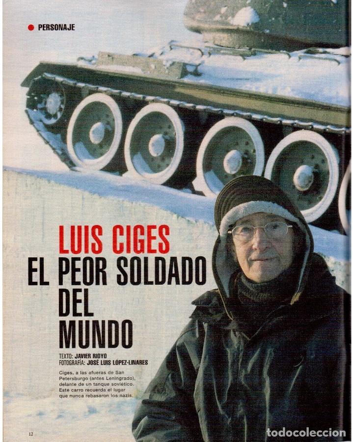 Coleccionismo de Periódico El País: 1999. EDUARDO ARROYO. 20 PÁGS. LUIS CIGES. MICHAEL JORDAN. CARBAGE. HIJAS DEL SOL. VER SUMARIO. - Foto 3 - 138062454