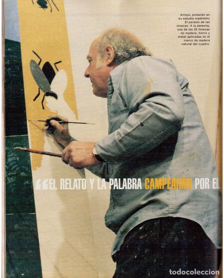 Coleccionismo de Periódico El País: 1999. EDUARDO ARROYO. 20 PÁGS. LUIS CIGES. MICHAEL JORDAN. CARBAGE. HIJAS DEL SOL. VER SUMARIO. - Foto 6 - 138062454