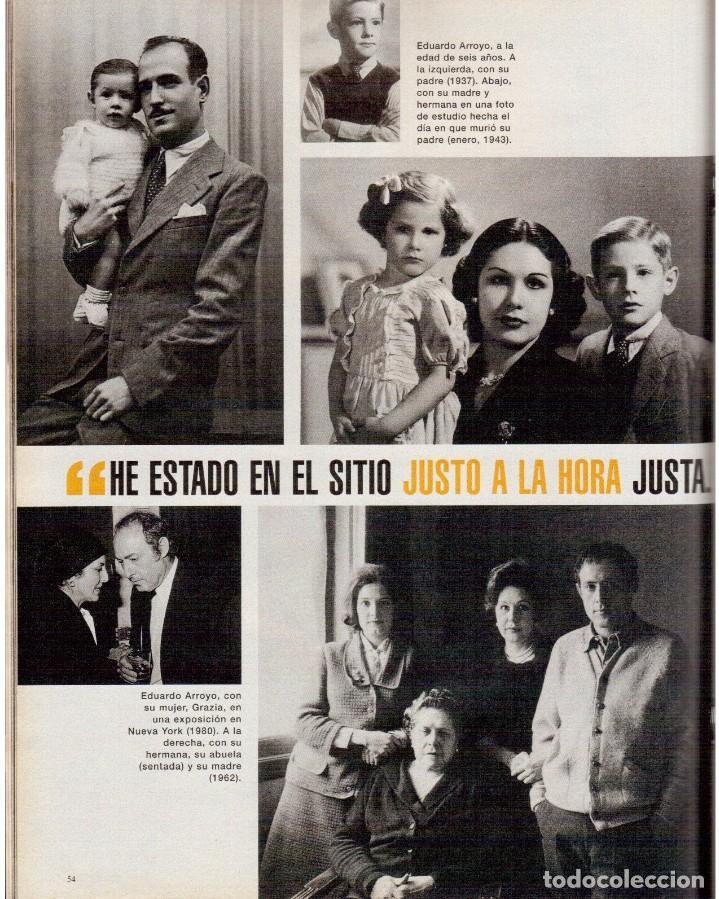 Coleccionismo de Periódico El País: 1999. EDUARDO ARROYO. 20 PÁGS. LUIS CIGES. MICHAEL JORDAN. CARBAGE. HIJAS DEL SOL. VER SUMARIO. - Foto 8 - 138062454