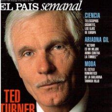 Coleccionismo de Periódico El País: 1999. TED TURNER. ARIADNA GIL. TAMARA ROJO. ELTON JOHN. MALÚ. VER SUMARIO.. Lote 138064042