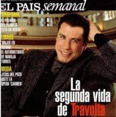 Coleccionismo de Periódico El País: 1999. JOHN TRAVOLTA. BRUCE SPRINGSTEEN. ARIEL ROT. ROSARIO FLORES. VER SUMARIO. . Lote 138312782