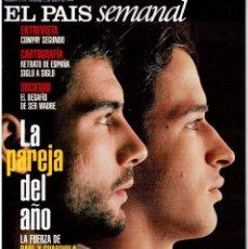 Coleccionismo de Periódico El País: 1999. GUARDIOLA-RAÚL. PATRICIA VELASQUEZ. FRANCISCO CÉSPEDES. VER SUMARIO.. Lote 138604150