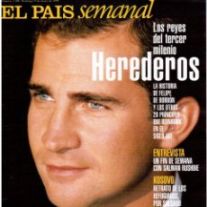 Coleccionismo de Periódico El País: 1999. SALMAN RUSHDIE. KOSOVARES. SEBASTIÁO SALGADO. WARIS DIRIE. KITI MANVER. SHARLEEN SPITERI. VER.. Lote 138606558