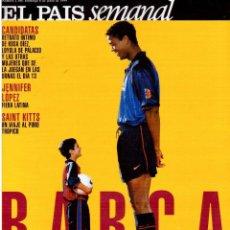 Coleccionismo de Periódico El País: 1999. BARÇA, CENTENARIO FELIZ. ANA FERRER, DESPUÉS DEL CASO ROLDÁN. SAINT KITTS. JENNIFER LÓPEZ. VER. Lote 138615062