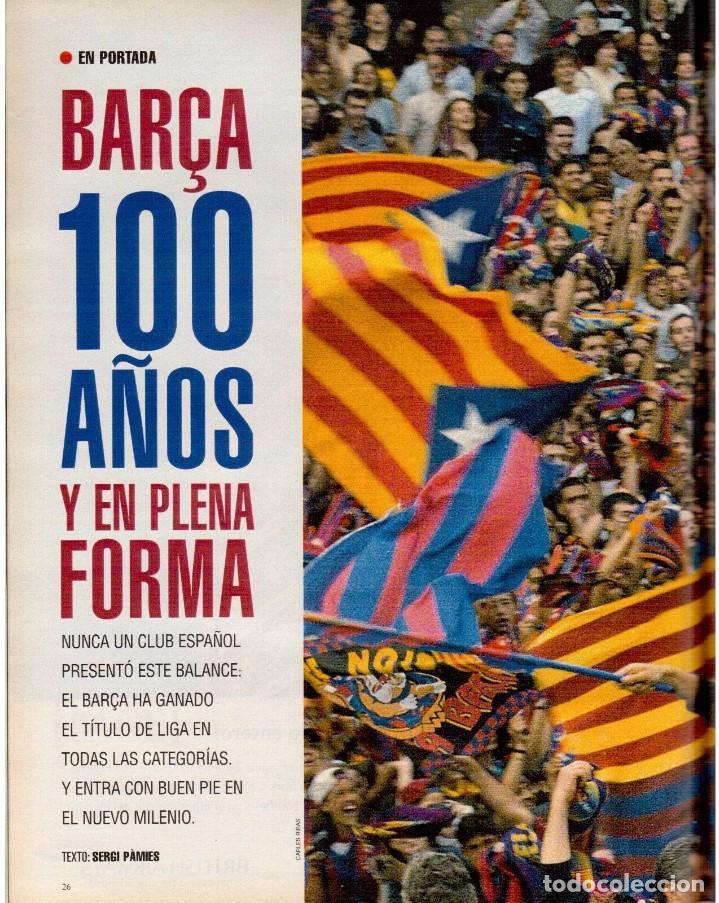 Coleccionismo de Periódico El País: 1999. BARÇA, CENTENARIO FELIZ. ANA FERRER, DESPUÉS DEL CASO ROLDÁN. SAINT KITTS. JENNIFER LÓPEZ. VER - Foto 4 - 138615062