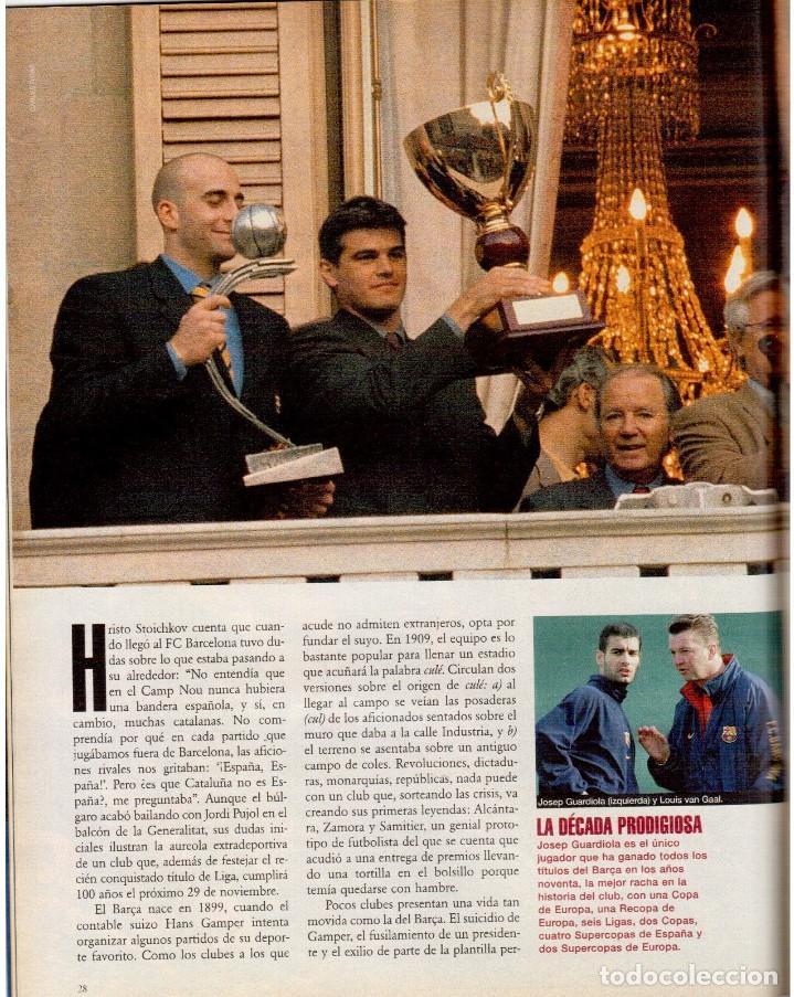 Coleccionismo de Periódico El País: 1999. BARÇA, CENTENARIO FELIZ. ANA FERRER, DESPUÉS DEL CASO ROLDÁN. SAINT KITTS. JENNIFER LÓPEZ. VER - Foto 6 - 138615062