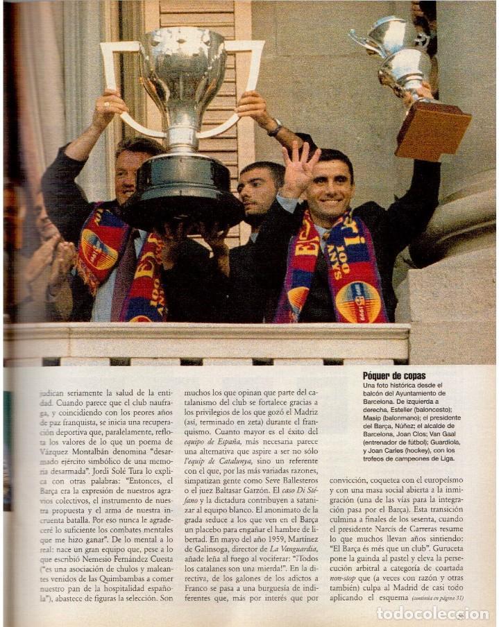 Coleccionismo de Periódico El País: 1999. BARÇA, CENTENARIO FELIZ. ANA FERRER, DESPUÉS DEL CASO ROLDÁN. SAINT KITTS. JENNIFER LÓPEZ. VER - Foto 7 - 138615062