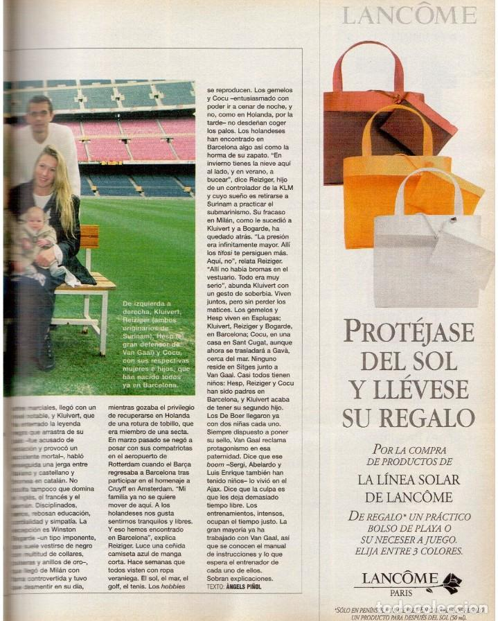 Coleccionismo de Periódico El País: 1999. BARÇA, CENTENARIO FELIZ. ANA FERRER, DESPUÉS DEL CASO ROLDÁN. SAINT KITTS. JENNIFER LÓPEZ. VER - Foto 9 - 138615062