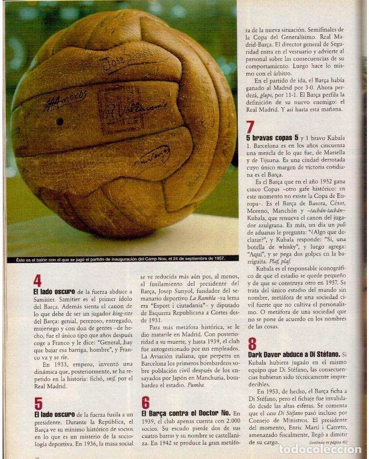 Coleccionismo de Periódico El País: 1999. BARÇA, CENTENARIO FELIZ. ANA FERRER, DESPUÉS DEL CASO ROLDÁN. SAINT KITTS. JENNIFER LÓPEZ. VER - Foto 11 - 138615062