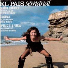 Coleccionismo de Periódico El País: 1999. MARISOL. GÉRARD DEPARDIEU. HEMINGWAY POR ROBERT CAPA. SERRAT, PASIÓN LATINOAMERICANA. A MOLERO. Lote 138648438
