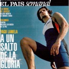 Coleccionismo de Periódico El País: 1999. YAGO LAMELA. LA NOVIA DE LIBERTO, RELATO INÉDITO, MANUEL RIVAS. PADDY MOLONEY, THE CHIEFTAINS.. Lote 138658746