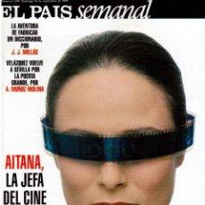 Coleccionismo de Periódico El País: 1999. AITANA SÁNCHEZ GIJÓN. MANUEL SECO. DAVID BOWIE. JOSÉ LUIS CUERDA. ENRIQUE BUNBURY. VER SUMARIO. Lote 138741590