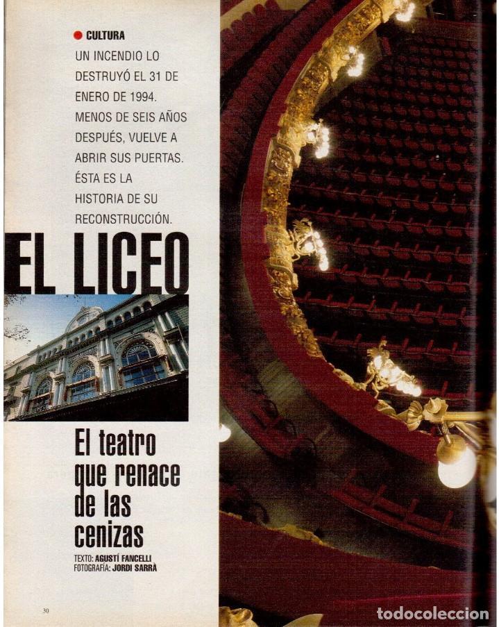Coleccionismo de Periódico El País: 1999. MIGUEL BOSÉ (9 PÁGS). EUGENIA SILVA. ELENA ANAYA Y LEONOR WATLING. ASSUMPTA SERNA. VER - Foto 7 - 138746322
