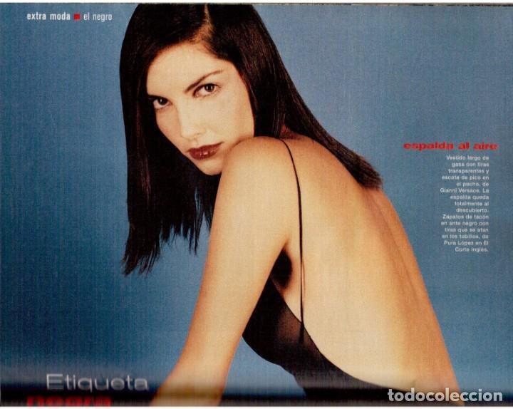 Coleccionismo de Periódico El País: 1999. MIGUEL BOSÉ (9 PÁGS). EUGENIA SILVA. ELENA ANAYA Y LEONOR WATLING. ASSUMPTA SERNA. VER - Foto 10 - 138746322