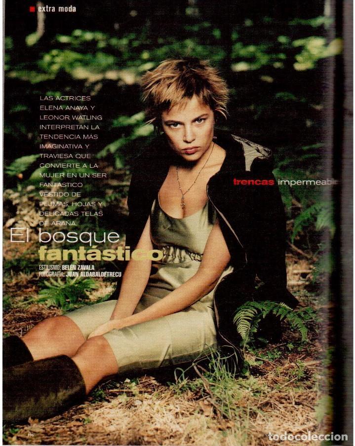 Coleccionismo de Periódico El País: 1999. MIGUEL BOSÉ (9 PÁGS). EUGENIA SILVA. ELENA ANAYA Y LEONOR WATLING. ASSUMPTA SERNA. VER - Foto 11 - 138746322