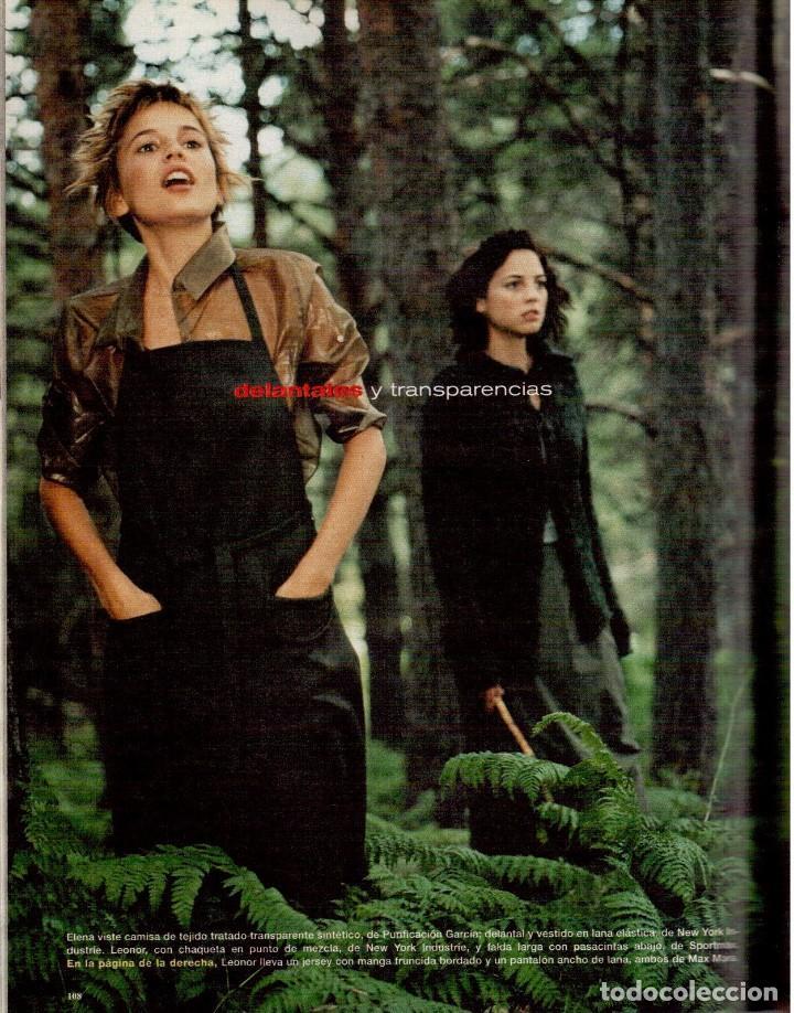 Coleccionismo de Periódico El País: 1999. MIGUEL BOSÉ (9 PÁGS). EUGENIA SILVA. ELENA ANAYA Y LEONOR WATLING. ASSUMPTA SERNA. VER - Foto 13 - 138746322