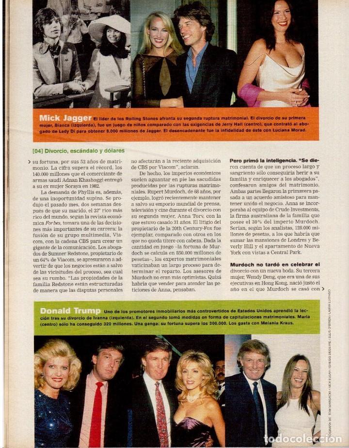Coleccionismo de Periódico El País: 1999. MARION JONES. MICK JAGGER. DONALD TRUMP. XAVIER PASTOR. VER SUMARIO. - Foto 6 - 138821946