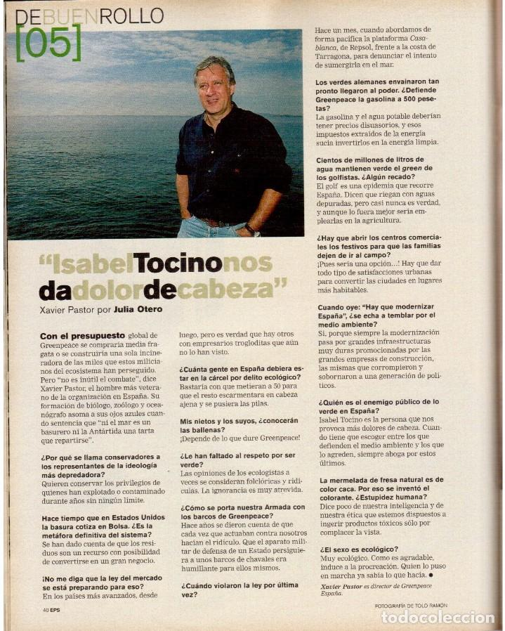 Coleccionismo de Periódico El País: 1999. MARION JONES. MICK JAGGER. DONALD TRUMP. XAVIER PASTOR. VER SUMARIO. - Foto 7 - 138821946