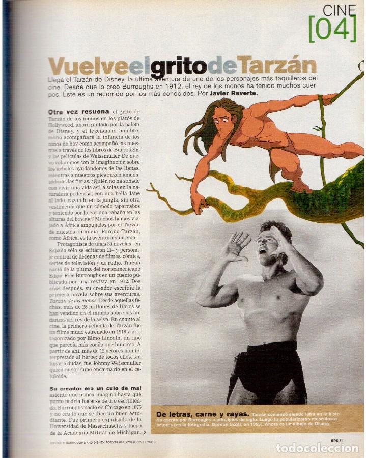 Coleccionismo de Periódico El País: 1999. GRACIA QUEREJETA. TARZÁN. MANOLITA CHEN. ERNEST SHACKLETON. VER SUMARIO. - Foto 5 - 138848070