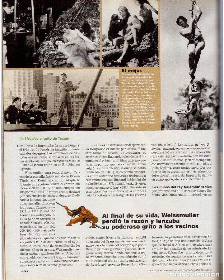 Coleccionismo de Periódico El País: 1999. GRACIA QUEREJETA. TARZÁN. MANOLITA CHEN. ERNEST SHACKLETON. VER SUMARIO. - Foto 6 - 138848070