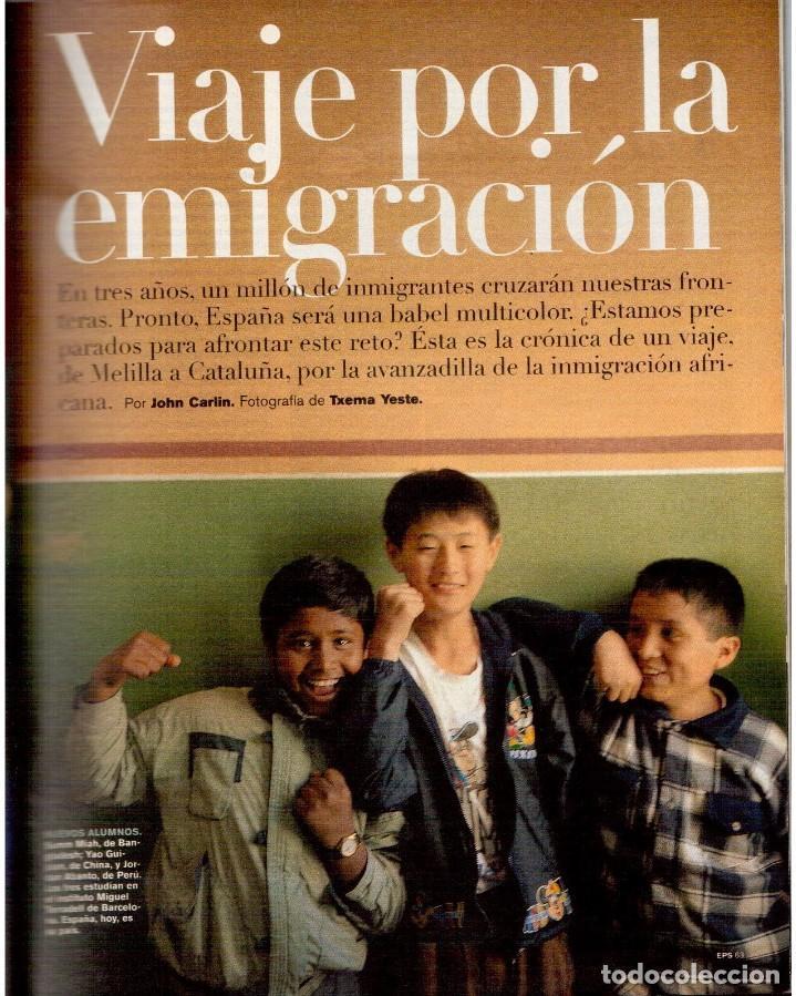 Coleccionismo de Periódico El País: 1999. GRACIA QUEREJETA. TARZÁN. MANOLITA CHEN. ERNEST SHACKLETON. VER SUMARIO. - Foto 8 - 138848070