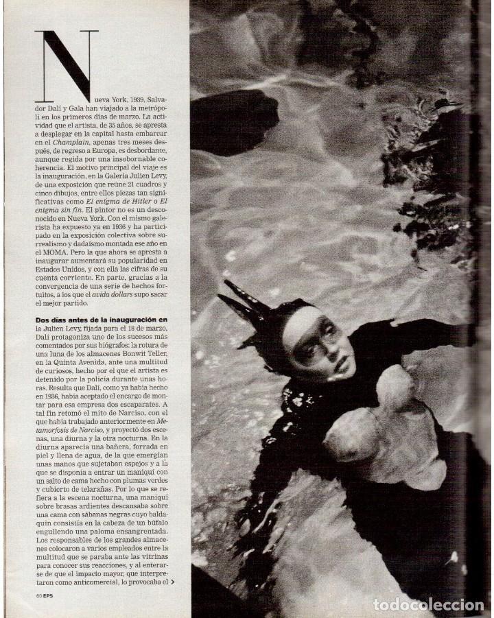 Coleccionismo de Periódico El País: 1999. JON SOBRINO. EL SUEÑO PROHIBIDO DE DALÍ. LA JUANI. VER SUMARIO. - Foto 8 - 138852690