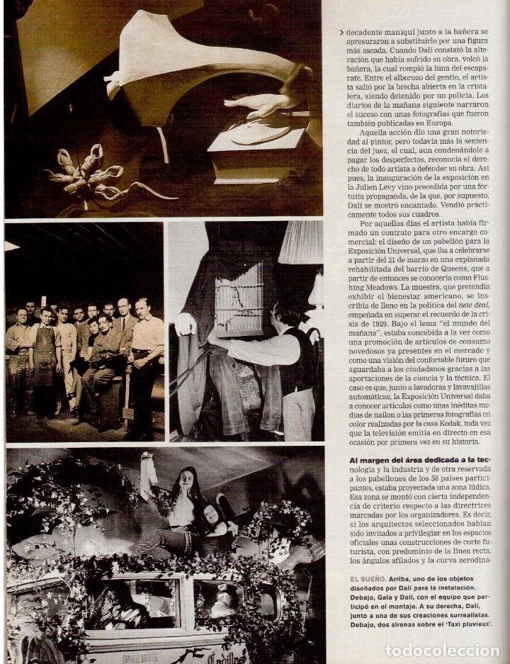 Coleccionismo de Periódico El País: 1999. JON SOBRINO. EL SUEÑO PROHIBIDO DE DALÍ. LA JUANI. VER SUMARIO. - Foto 10 - 138852690