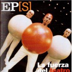 Coleccionismo de Periódico El País: 1999. DESMOND MORRIS. XAVIER SARDÁ. LA FUERZA DEL TEATRO. PANAMÁ. VER SUMARIO.. Lote 138854562