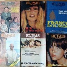 Coleccionismo de Periódico El País: EL PAÍS SEMANAL. Lote 95115891