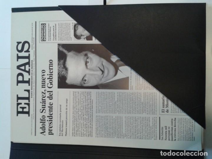 Coleccionismo de Periódico El País: LAS PORTADAS QUE HACEN HISTORIA 2006 EL PAÍS ( 30 PORTADAS EN CARTULINA) - Foto 2 - 142294494