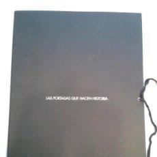 Coleccionismo de Periódico El País: LAS PORTADAS QUE HACEN HISTORIA 2006 EL PAÍS ( 30 PORTADAS EN CARTULINA) . Lote 142294494