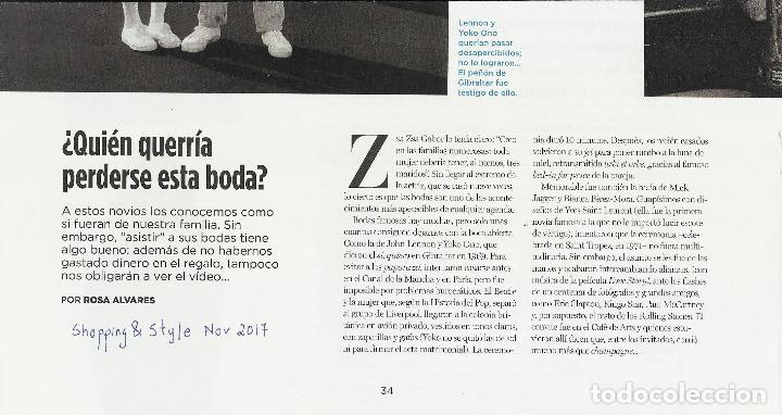 Coleccionismo de Periódico El País: El PAIS SEMANAL.BEATLES Paul McCartney.Lennon.Anthology.Beatlemania...Rev Completa + 8 regalos - Foto 5 - 142833882