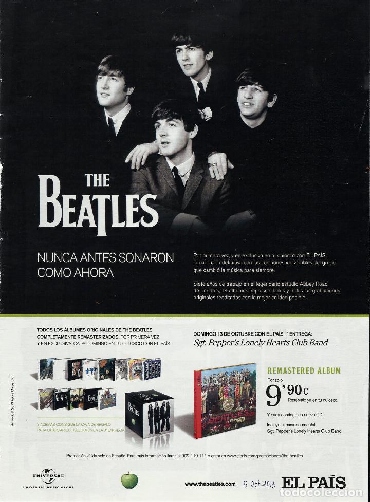 Coleccionismo de Periódico El País: El PAIS SEMANAL.BEATLES Paul McCartney.Lennon.Anthology.Beatlemania...Rev Completa + 8 regalos - Foto 6 - 142833882