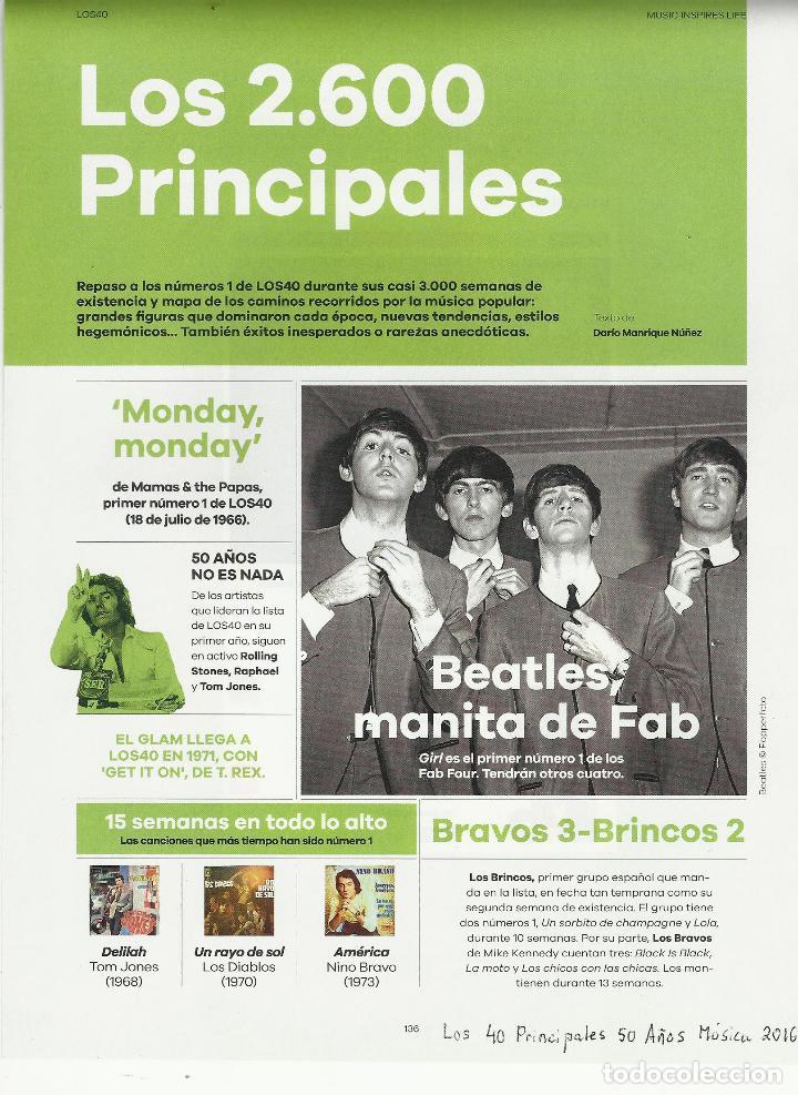Coleccionismo de Periódico El País: El PAIS SEMANAL.BEATLES Paul McCartney.Lennon.Anthology.Beatlemania...Rev Completa + 8 regalos - Foto 7 - 142833882