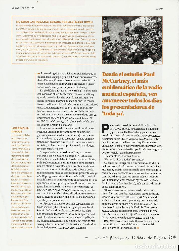 Coleccionismo de Periódico El País: El PAIS SEMANAL.BEATLES Paul McCartney.Lennon.Anthology.Beatlemania...Rev Completa + 8 regalos - Foto 8 - 142833882