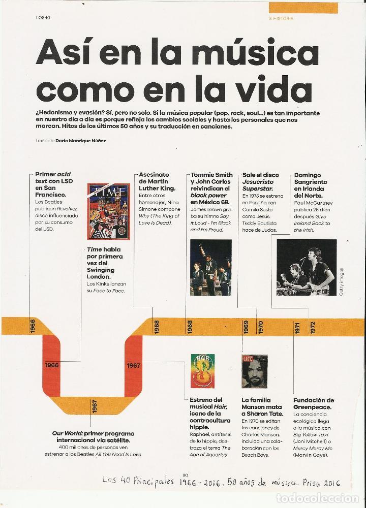 Coleccionismo de Periódico El País: El PAIS SEMANAL.BEATLES Paul McCartney.Lennon.Anthology.Beatlemania...Rev Completa + 8 regalos - Foto 9 - 142833882