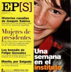 Coleccionismo de Periódico El País: 2000. EL PAIS SEMANAL 16.1.2000. Lote 142999502