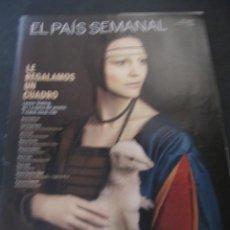 Coleccionismo de Periódico El País: EL PAIS SEMANAL MARZO 2012 LEONOR WATLING QUIM GUTIERREZ JUAN DIEGO BOTTO PACO LEON AITANA SANCHEZ G. Lote 143655066