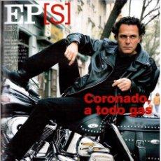 Coleccionismo de Periódico El País: 2001. BEHJAT HAMRA. JOSÉ CORONADO. GISELE BÜNDCHEN. MIES VAN DER ROHE. MÚSICOS POR UN TUBO. VER.. Lote 144933410