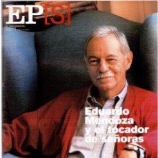 Coleccionismo de Periódico El País: 2001. EDUARDO MENDOZA. CRISTINA IGLESIAS. LOS SOBREVIVIENTES DE PABLO ESCOBAR. INÉS SASTRE. VER.. Lote 145007378