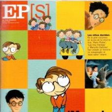 Coleccionismo de Periódico El País: 2001. PHYLLIS DOROTHY JAMES. FERNANDO ALONSO. FADIME. MARCEL MAIGROT. HARRY POTTER. VER SUMARIO.. Lote 145009562