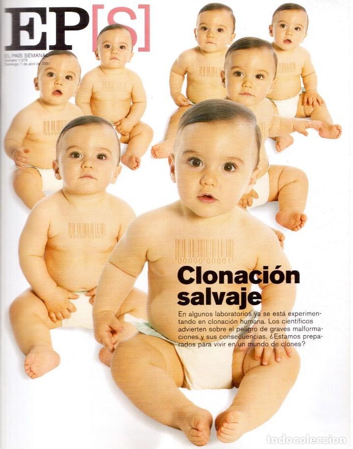 2001. INÉS SASTRE. MARTA SÁNCHEZ. MÓNICA NARANJO. LUZ CASAL. ANA TORROJA. VER SUMARIO. (Coleccionismo - Revistas y Periódicos Modernos (a partir de 1.940) - Periódico El Páis)