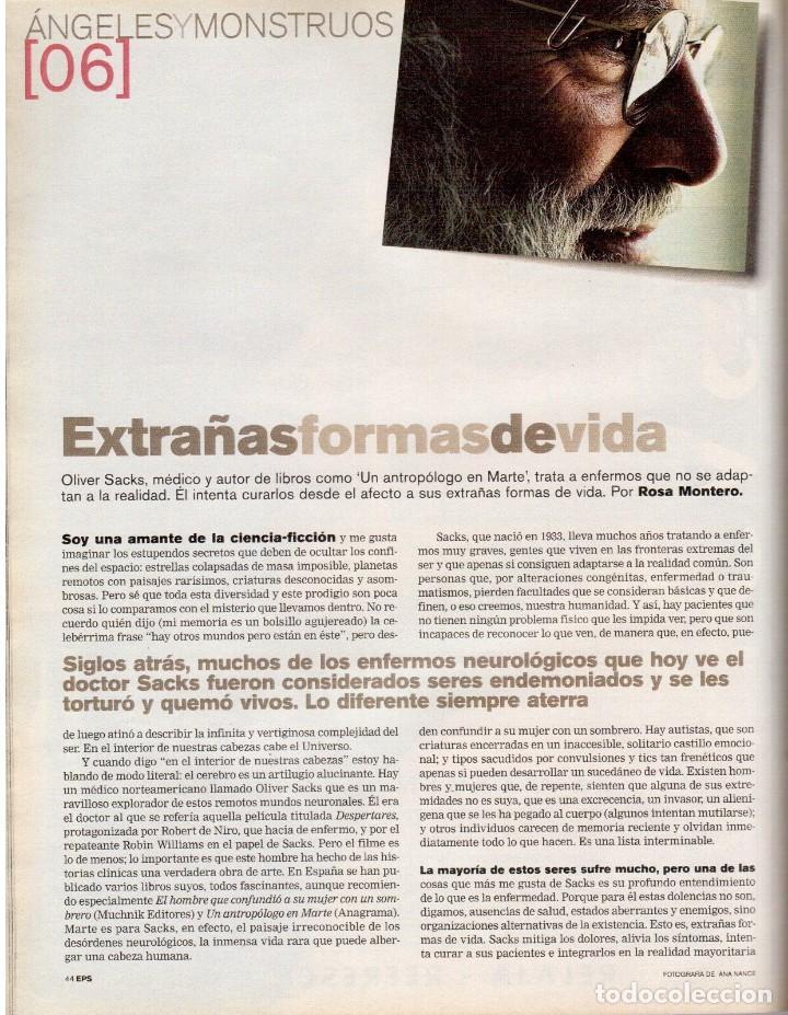 Coleccionismo de Periódico El País: 2001. INÉS SASTRE. MARTA SÁNCHEZ. MÓNICA NARANJO. LUZ CASAL. ANA TORROJA. VER SUMARIO. - Foto 4 - 145023182
