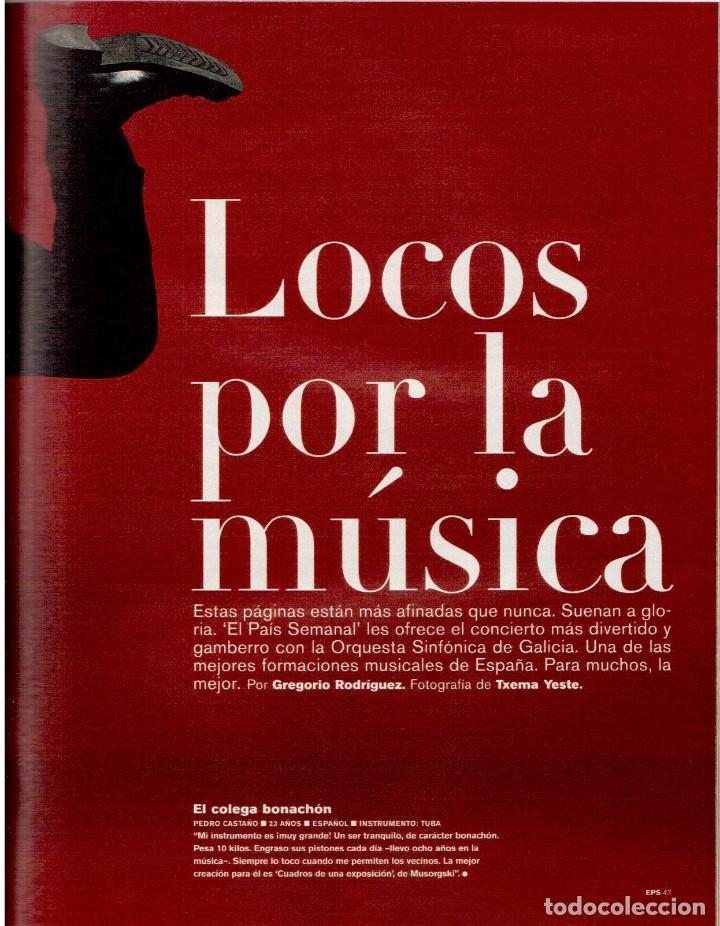 Coleccionismo de Periódico El País: 2001. INÉS SASTRE. MARTA SÁNCHEZ. MÓNICA NARANJO. LUZ CASAL. ANA TORROJA. VER SUMARIO. - Foto 5 - 145023182