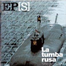 Coleccionismo de Periódico El País: 2001. TOMATITO. ANNA NICOLE SMITH. KURKS, LA TUMBA RUSA. EL TALLER DE FERRAN ADRÍA. INGO MAURER. VER. Lote 145133794