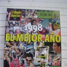Coleccionismo de Periódico El País: EL MUNDO DEPORTIVO 1988 EL MEJOR AÑO. Lote 145507270