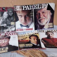 Coleccionismo de Periódico El País: DOMINICAL EL PAÍS SEMANAL. AÑO 1994. 6 EJEMPLARES DIFERENTES.. Lote 145618526