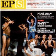 Coleccionismo de Periódico El País: 2001. NAOMI KLEIN. METTE-MARIT Y HAAKON. ELENA ANAYA, PAZ VEGA Y NAJWA NIMRI. JAMES DEAN Y SAL MINEO. Lote 145624330